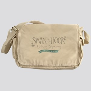 OUAT Swan Hook Happy Beginning Messenger Bag