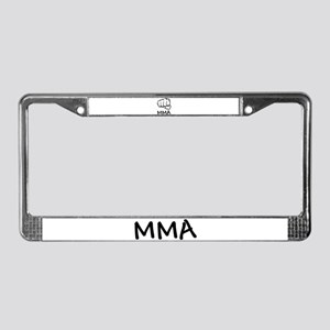 MMA License Plate Frame
