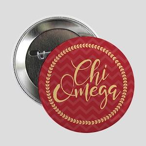 "Chi Omega Circle 2.25"" Button"