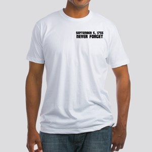Never Forget Fitted T-Shirt