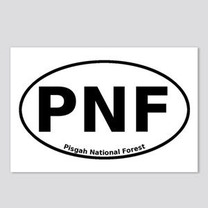 Pisgah National Forest Euro Postcards (Package of