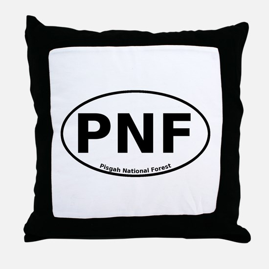 Pisgah National Forest Euro Throw Pillow
