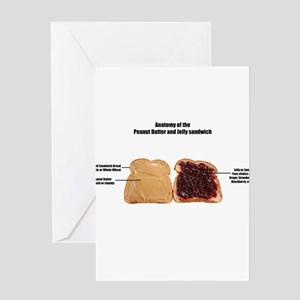 Anatomy of the Peanut butter and jelly sand Greeti