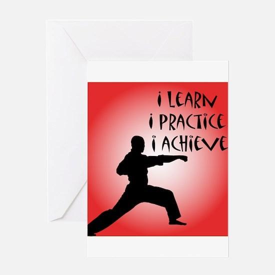 Karate Kid Greeting Card