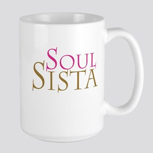 """Soul Sista"" Large Mug"