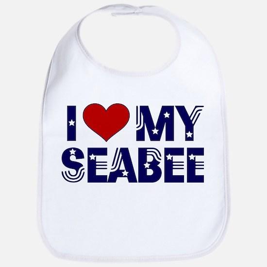 I love (heart) my Seabee Bib