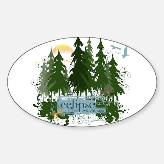 Twilight Eclipse by UTeezSF.com Sticker (Oval)