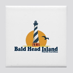Bald Head Island NC - Lighthouse Design Tile Coast