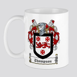 Irish Thompson Family Crest Mug