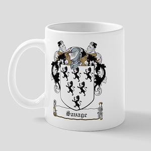 Savage Family Crest Mug