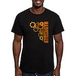 Strength Men's Fitted T-Shirt (dark)