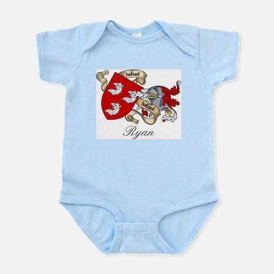Ryan Family Crest Infant Creeper