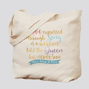 OUAT Love Expressed Through Song Tote Bag
