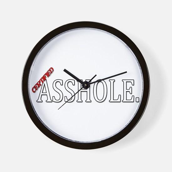 Unique Asshole Wall Clock