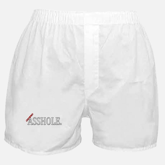 Cool Asshole Boxer Shorts