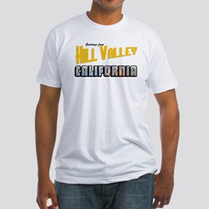 Hill Valley Fitted T-Shirt