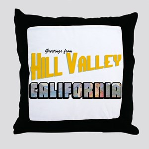 Hill Valley Throw Pillow