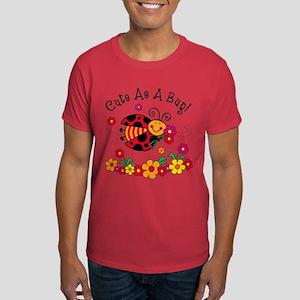 Ladybug Cute As A Bug Dark T-Shirt