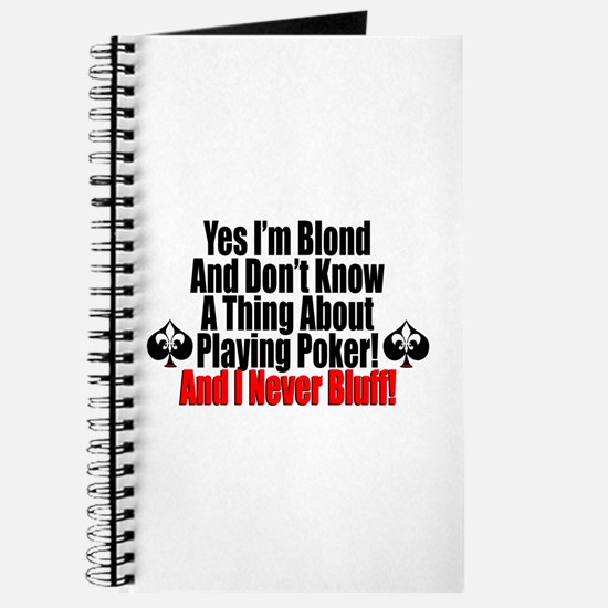 Yes I'm Blond! Journal