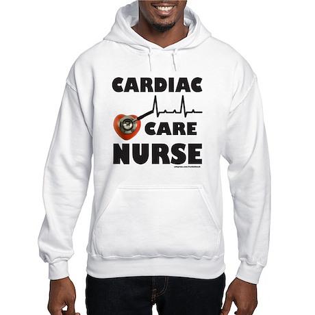CARDIAC CARE NURSE Hooded Sweatshirt