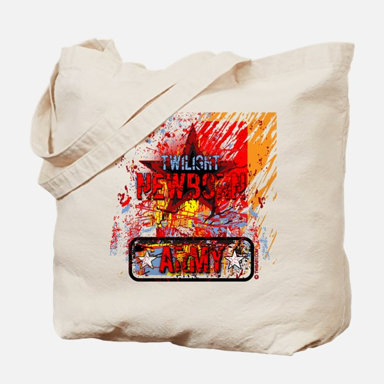 Newborn Army by Twibaby Tote Bag
