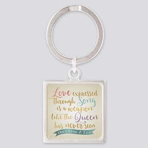 OUAT Love Expressed Through Song Keychains