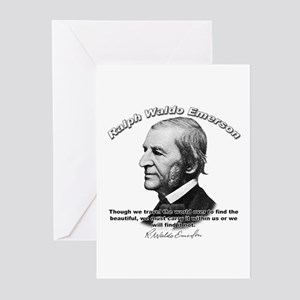 Ralph Waldo Emerson 05 Greeting Cards (Package of