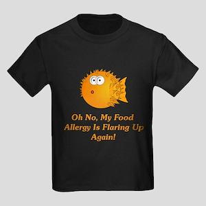 Oh No, My Food Allergy Kids Dark T-Shirt