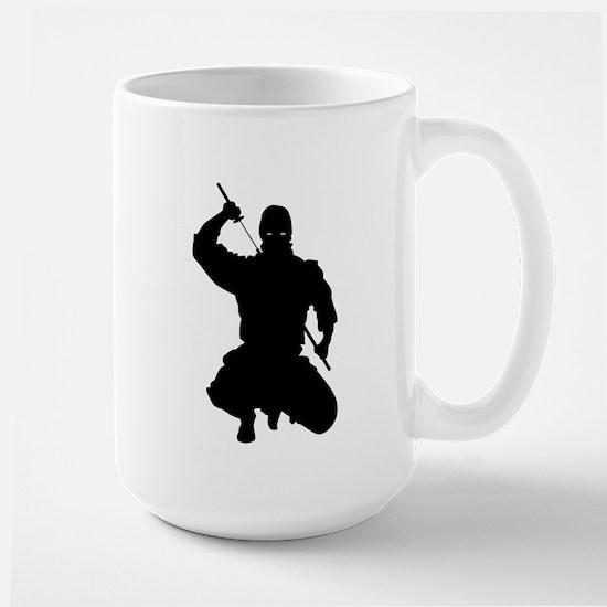 NINJA WARRIOR Large Mug