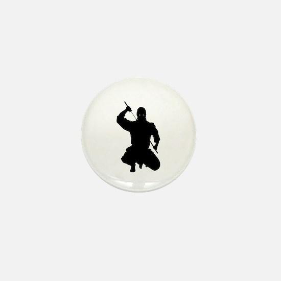 NINJA WARRIOR Mini Button