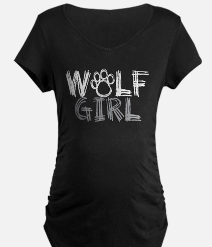 Funny Wolf girl T-Shirt