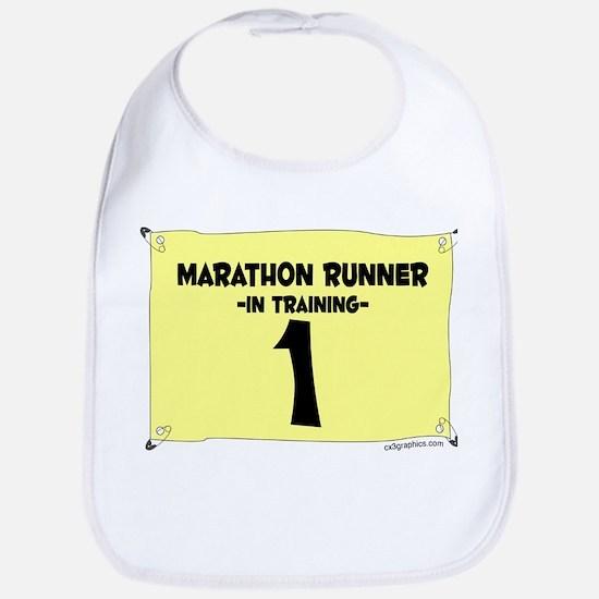Marathoner in Training Bib
