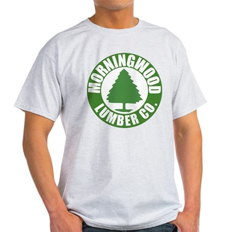 Morning Wood Lumber Co. Light T-Shirt