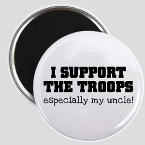 Support our Troops... especia Magnet
