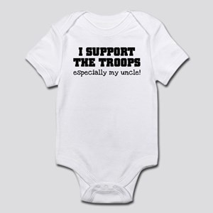 Support our Troops... especia Infant Bodysuit