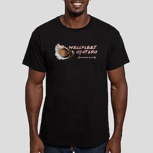 Wellfleet Oysters Men's Fitted T-Shirt (dark)