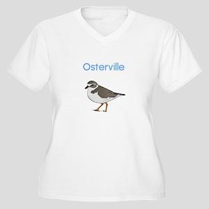 Osterville Women's Plus Size V-Neck T-Shirt
