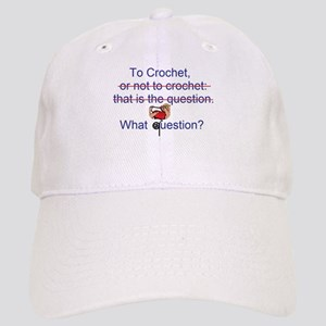 To Crochet. There is no quest Cap