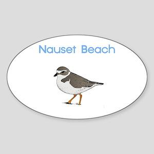 Nauset Beach Sticker (Oval)