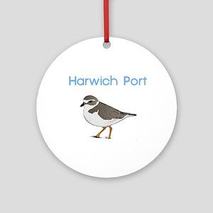 Harwich Port Ornament (Round)
