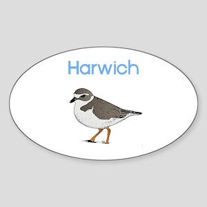Harwich Sticker (Oval)
