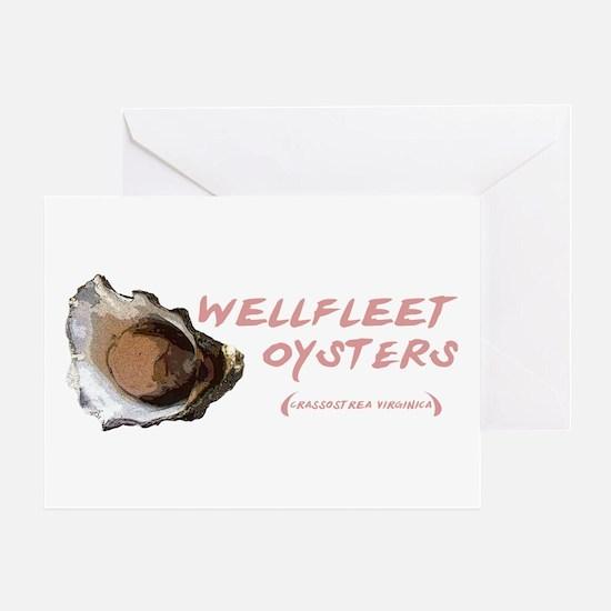 Wellfleet Oysters Greeting Card