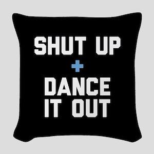 Grey's Shut Up & Dance It Out Woven Throw Pillow