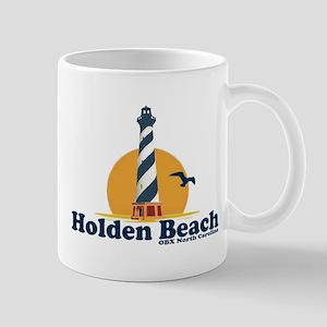 """Holden Beach NC """"Lighthouse"""" Design Mug"""