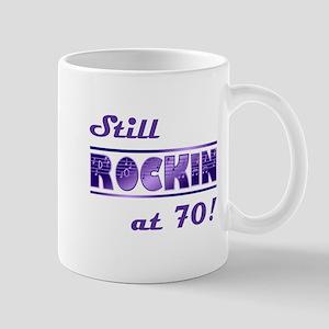 Still Rockin At 70 Mug