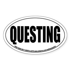 MMORPG Questing Oval Decal