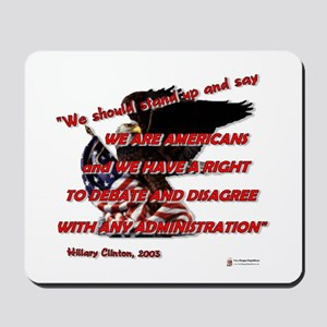 A Right to Debate Mousepad