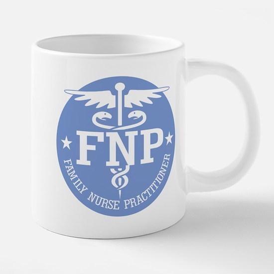 Family Nurse Practitioner 20 oz Ceramic Mega Mug