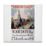 Buy US Government Bonds Tile Coaster