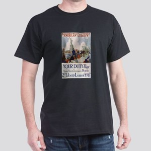 Buy US Government Bonds Dark T-Shirt